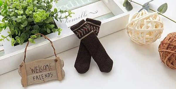 Chocolate Pattern Chair Sock Bundle