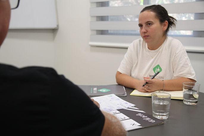 שיחה עם אסיר