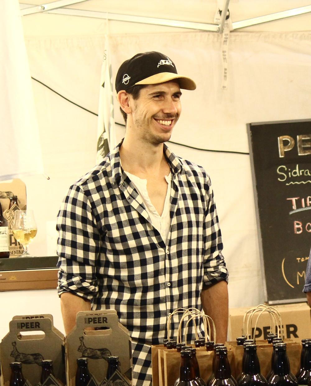 Marco Zec, socio fundador de PEER CIDER