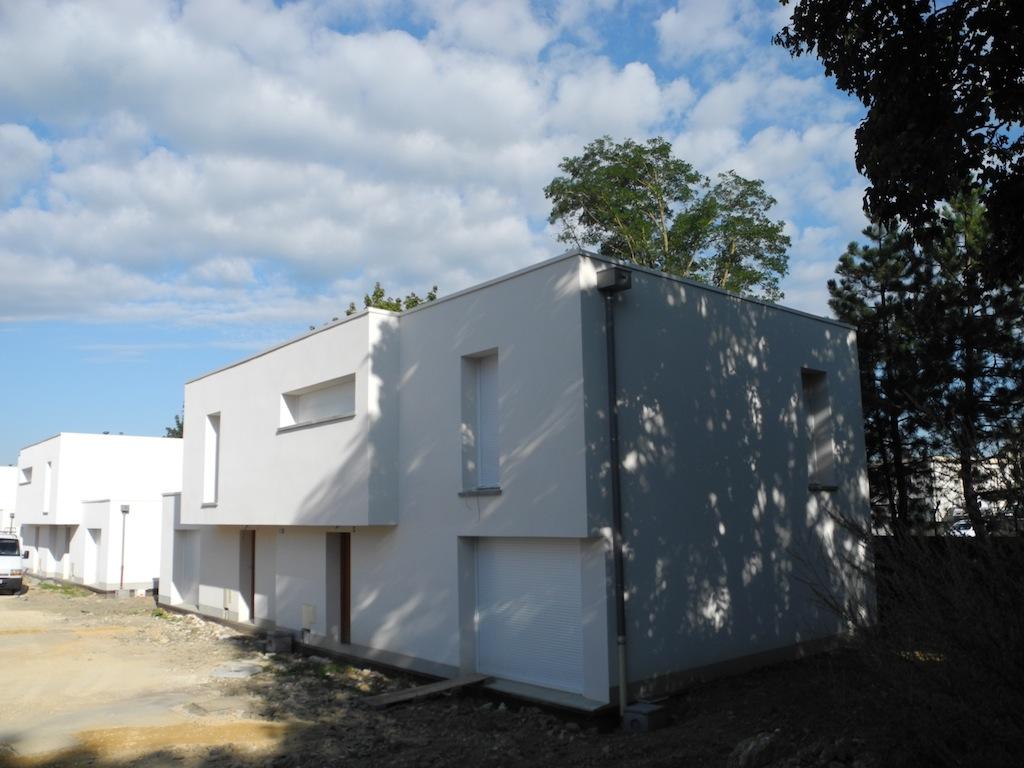 Construction de logements Rue Caquot
