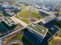 Réalisation du Campus Universitaire du Moulin Le Blanc