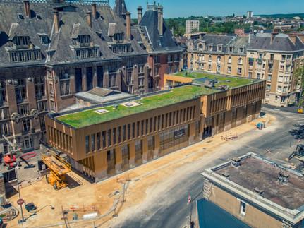 Avancées - Construction du Centre Communal d'Actions Sociales