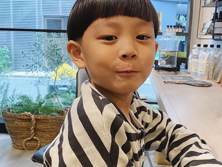 【Akane】Kids cut マッシュルーム