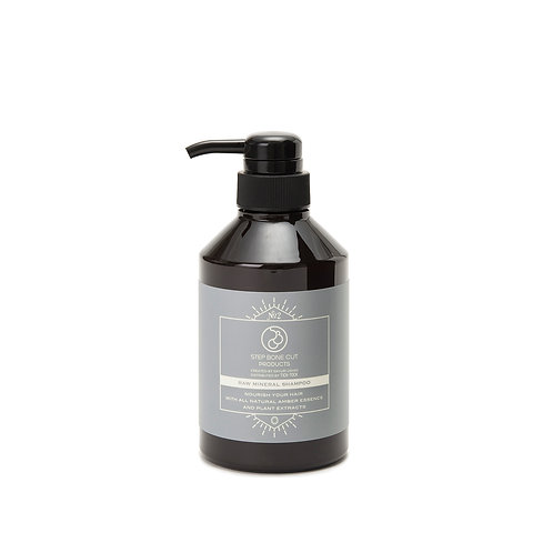 SBCP RAW MINERAL SHAMPOO 400ml Sale price $85/ Association price $34 ×6