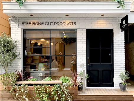 STEP BONE CUT PRODUCTSの日本初フラッグショップ NEW OPEN    (プレスリリース)