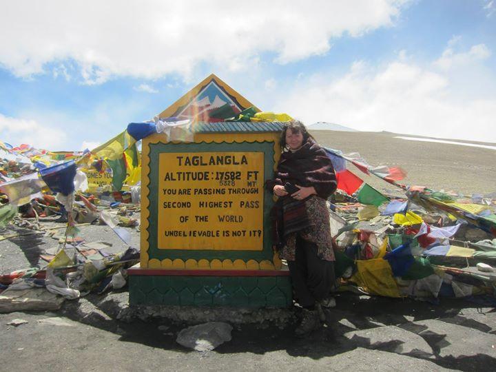 Op de top van de berg dankzij een VERLANGEN dat ik had!
