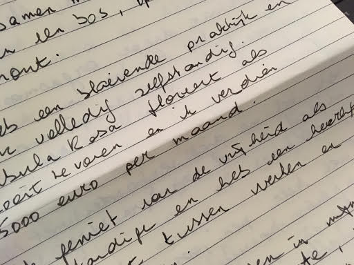 2 jaar geleden schreef ik mezelf een brief ...