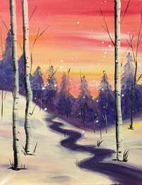 """Warm Winter Sky"""