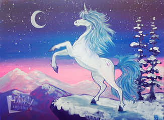 """FANTASY SERIES: Unicorn"""