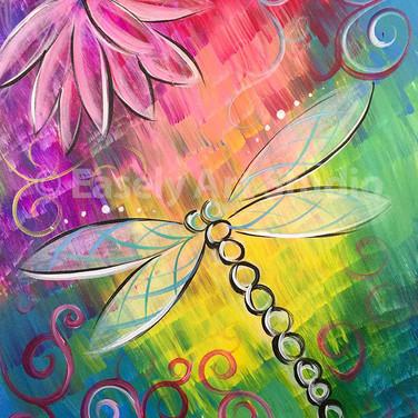 """Dancing Dragonfly"""