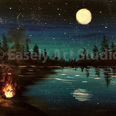 """Moon on the Lake"""