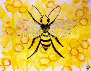 """Honey Bee"""