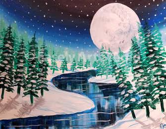 """Winter Moon"""