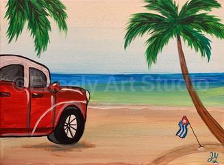 """Cuban Beach"""