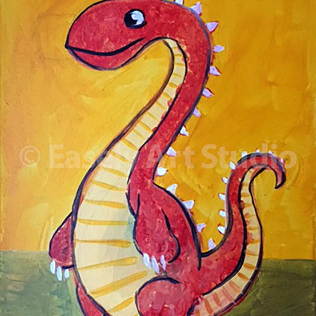 """""""Long Neck Dino"""""""