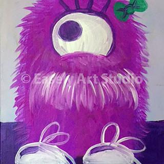 """Fuzzy Monster"""