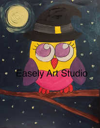 """Witchy Owl"""