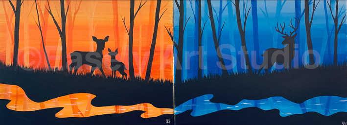 """""""Family of Deer"""""""