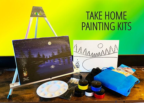 Home Studio Painting Kit - Deluxe