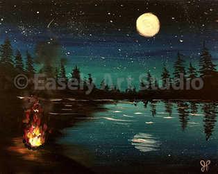"""""""Moon on the Lake"""""""