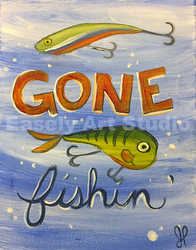 """Gone Fishin'"""