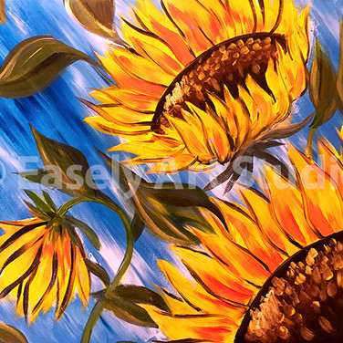 """Sunflowers in Bloom"""