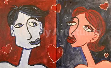 """Picasso Lovers"""