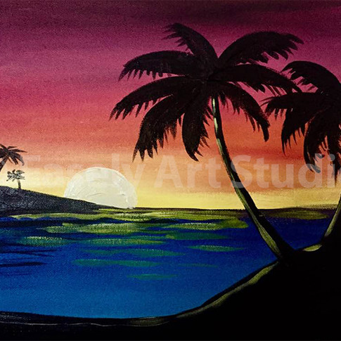 """Sunset in San Diego"""