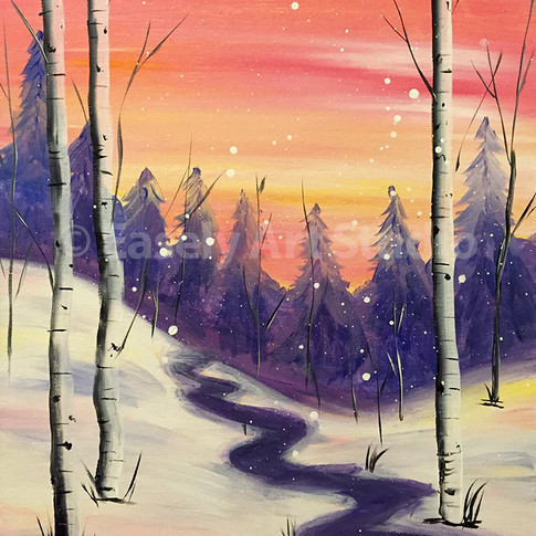 """Warm Winter River"""