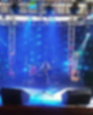 Banda, som, luz, palco... A Double Shot