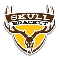 Skull Bracket: European style mount for skulls