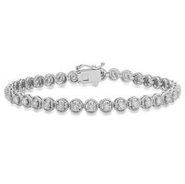 BC565 BEZEL DIAMOND BRACELET