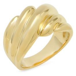 LRC154 14K YELLOW GOLD RING