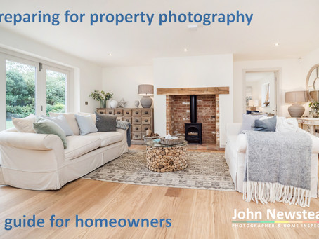 Preparing for property photography