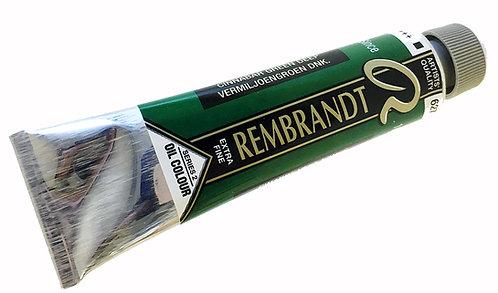 Huile Rembrandt Cinabre Vert Foncé 627 S2