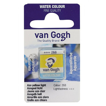 Aquarelle Van Gogh Jaune azo clair