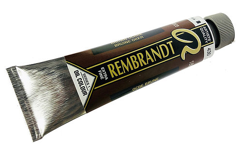 Huile Rembrandt Ocre Brune 430 S1