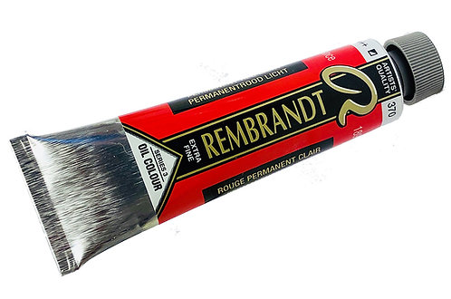Huile Rembrandt Rouge Permanent Clair 370 S3