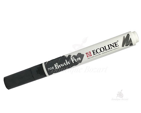 Ecoline Brush Pen Gris foncé 706
