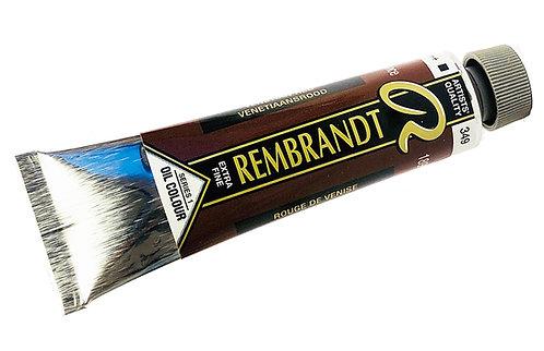 Huile Rembrandt Rouge Venise 349 S1