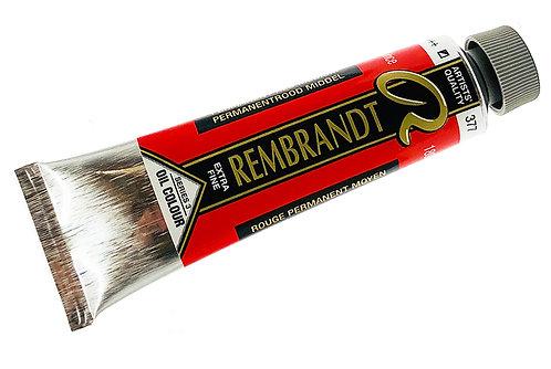 Huile Rembrandt Rouge Permanent Moyen 377 S3