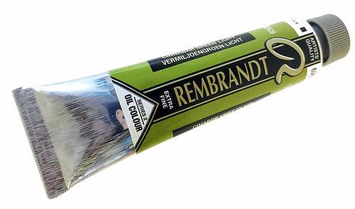 Huile Rembrandt Cinabre Vert Clair 626 S2