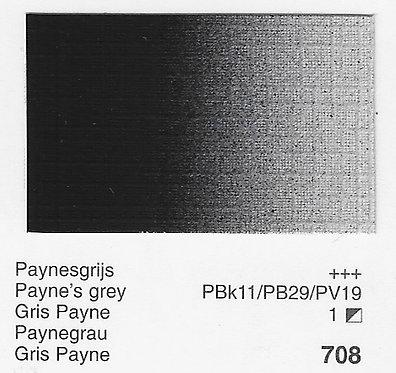 Huile Rembrandt Gris de Payne 708 S1