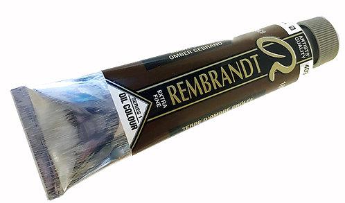 Huile Rembrandt Ombre Brûlée 409 S1