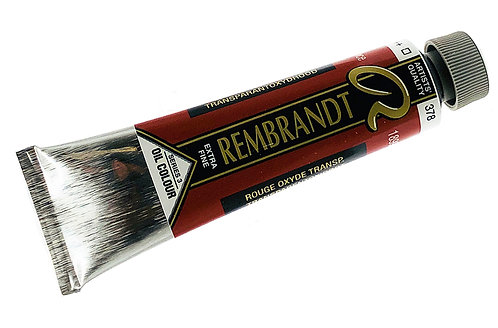 Huile Rembrandt Rouge Oxyde Transparent 378 S3