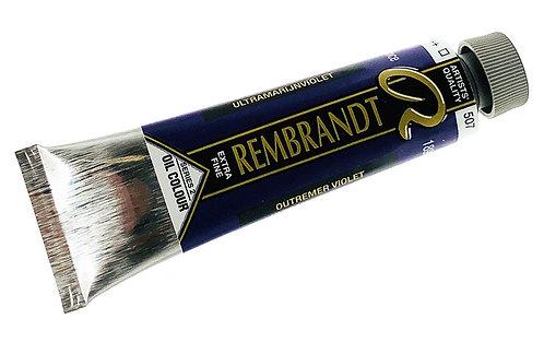 Huile Rembrandt Outremer Violet 507 S2