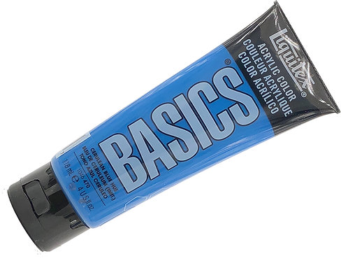Acrylique Basics Bleu Céruléum 470