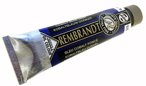 Huile Rembrandt Bleu Cobalt Foncé 515 S5