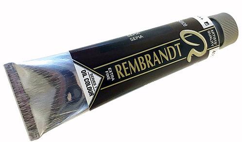 Huile Rembrandt Sépia 416 S1