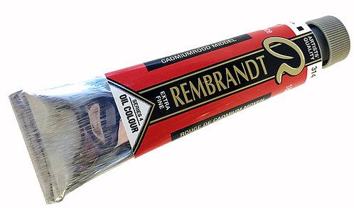Huile Rembrandt Rouge Cadmium Moyen 314 S4